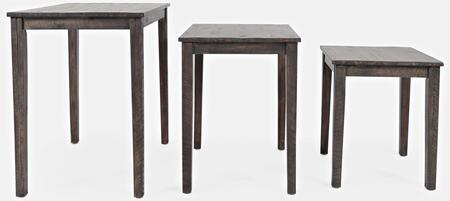 Global Archive Collection 1730-93  Clark Nesting Tables (Set of 3) in Burnished