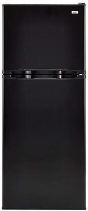 Haier HA10TG21SB Top Freezer Refrigerator Black, Main Image