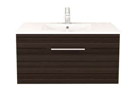 Cutler Kitchen and Bath Textures FVSB36 Sink Vanity Brown, Main Image