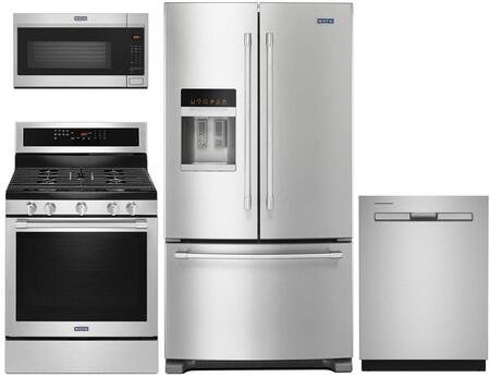 Maytag 730502 Kitchen Appliance Package & Bundle Stainless Steel, main image