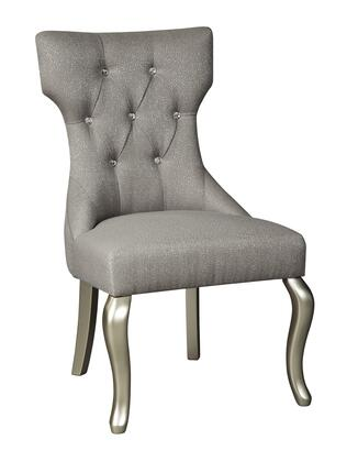 Signature Design by Ashley Coralayne D65003 Chair Silver, Main View
