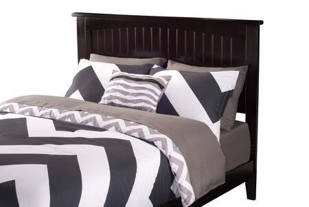 Atlantic Furniture Nantucket AR282831 Headboard Brown, AR282831 SILO DETAIL(H) 30
