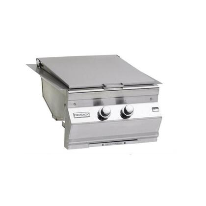 Fire Magic 3288LXX Side Burner Stainless Steel, Double Searing Station for Aurora Grills