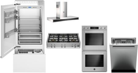 Bertazzoni  975798 Kitchen Appliance Package Panel Ready, main image