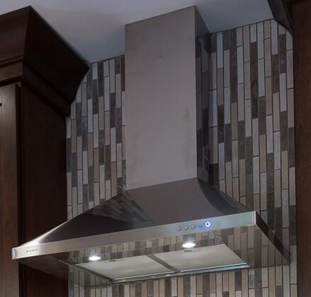 Faber CLAS30SS Wall Mount Range Hood Stainless Steel, 1