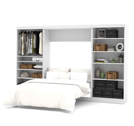 Bestar Furniture Pur Series 2689517 Bed White, Main View