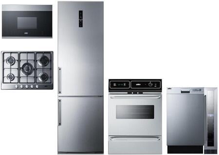 Summit 1114333 Kitchen Appliance Package & Bundle Stainless Steel, main image