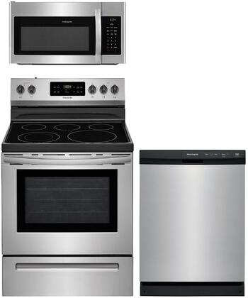 Frigidaire  1010239 Kitchen Appliance Package Stainless Steel, main image