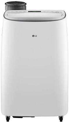 LG 14,000 BTU 115V White Smart Wi-Fi Portable Air Conditioner, LP1419IVSM