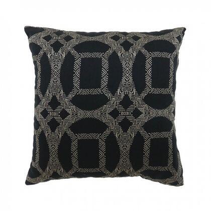 Furniture of America Dior PL6026S2PK Pillow Black, pl6026 1