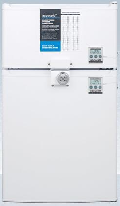 AccuCold  CP351WLLF2PLUS2 Compact Refrigerator White, Main Image