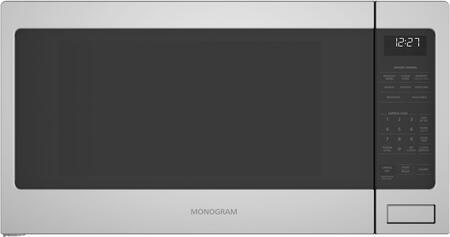 Monogram  ZES1227SLSS Countertop Microwave Stainless Steel, ZES1227SLSS