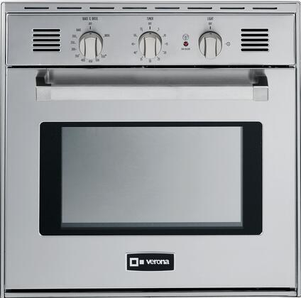 Verona VEBIG24NSS Single Wall Oven Stainless Steel, Main Image