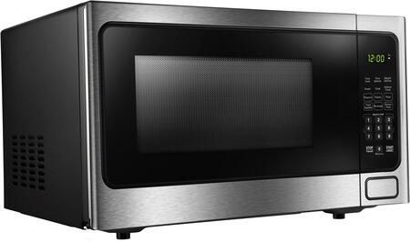 DDMW1125BBS 21″ Designer Series Stainless Steel Microwave with 1.1 cu. ft. Capacity  1000 Cooking Watts  10 Power Levels and Child