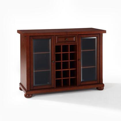 Crosley Furniture Alexandria KF40002AMA Bar Brown, KF40002AMA W1