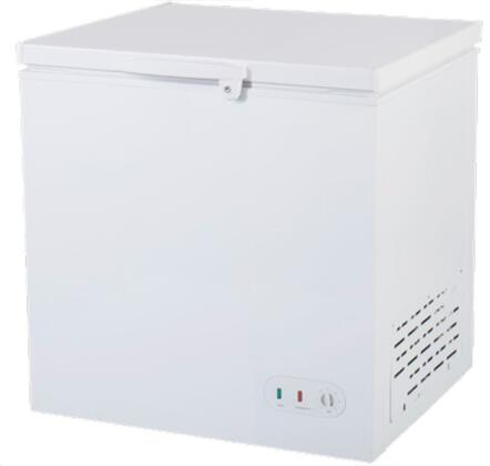 MXSH7.0S 38″ Select Series Solid Chest Freezer with 7 cu. ft. Capacity  Lid Lock and Manual Defrost in