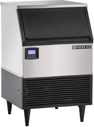 Maxx Ice Intelligent MIM150NH Commercial Undercounter Ice Machine Stainless Steel, MIM150NH Self Contained Ice Machine
