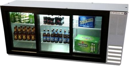 Beverage-Air  BB72HC1FGSS Back Bar Cooler Stainless Steel, Main Image
