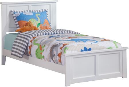 Atlantic Furniture Madison AR8616032 Bed White, AR8616032