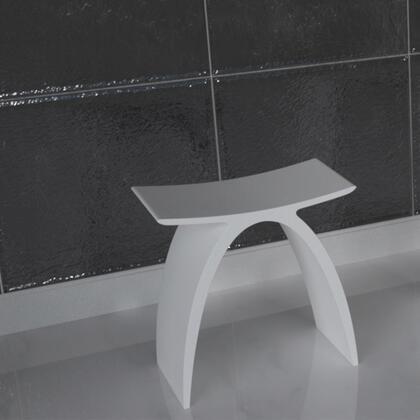Valley Acrylic Affordable Luxury VA4001STOOL Bath Tub White, Main Image