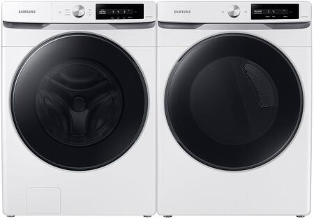 Samsung  1496775 Washer & Dryer Set White, 1
