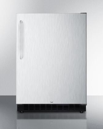 Summit  AL54CSSTB Compact Refrigerator Stainless Steel, AL54CSSTB Compact Refrigerator