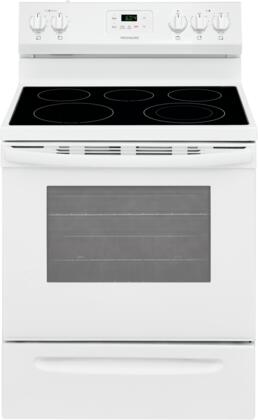 Frigidaire FCRE3052AW Freestanding Electric Range White, FCRE3052AW 30'' Electric Range