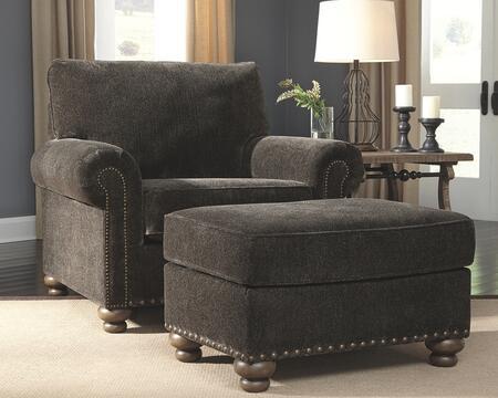 Signature Design by Ashley Stracelen 80603202SET Living Room Set Black, Living Room Set
