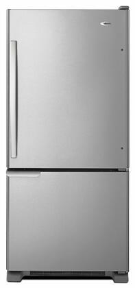 Amana  ABB1921BRM Bottom Freezer Refrigerator Stainless Steel, Main View