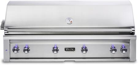 VQGI5541NSS 54″ Natural Gas Built-In Grill with Pro Sear Burner  Rotisserie  Grill Lighting  Temperature Gauge  in Stainless