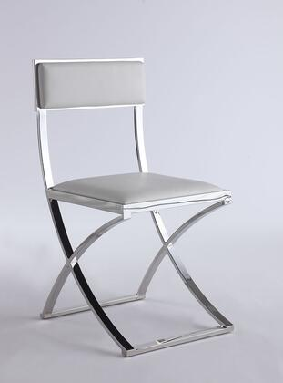 Chintaly Madison MADISONSCWHT Dining Room Chair White, Main Image