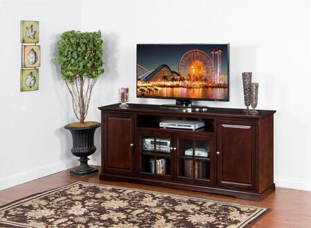 Sunny Designs Monterey 3474MT78 52 in. and Up TV Stand Brown, Main Image