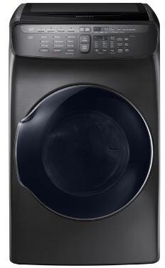 Samsung  DVE55M9600V Electric Dryer Black Stainless Steel, Main Image