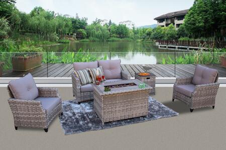 Bellini Home and Gardens San Miguel W100105CDFA200 set