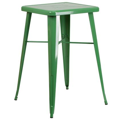 Flash Furniture CH31330 CH31330GNGG Outdoor Patio Table Green, 1