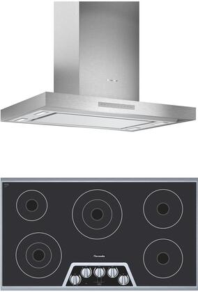 Thermador  1071273 Kitchen Appliance Package Stainless Steel, main image