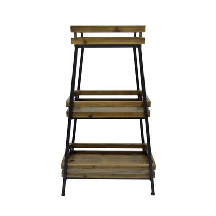 Plutus Brands  PBTH93576 Plant Stand Brown, PBTH93576