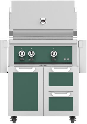Hestan 852422 Grill Package Green, Main Image