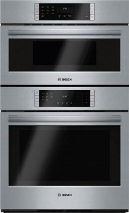 Bosch 800 Series HBL87M52UC Double Wall Oven Stainless Steel,  HBL87M52UC  Main Image