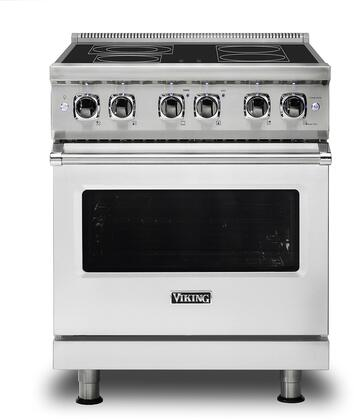 Viking Professional 5 VER5304BSS Freestanding Electric Range Stainless Steel, Main Image