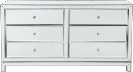Elegant Lighting Reflexion MF72036 Dresser , MF72036
