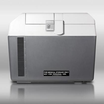 AccuCold  SPRF26M Chest Freezer Gray, Front View