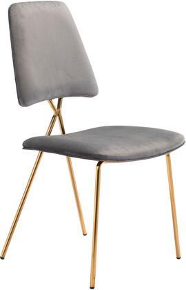 101463 Chloe Chair Gray  (Set of
