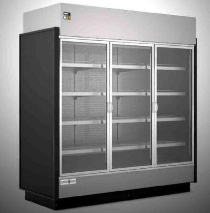 Hydra-Kool  KGVMR3S Display and Merchandising Refrigerator Black, KGVMR3S High Volume Grab-N-Go Case