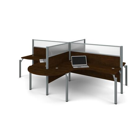 Bestar Furniture 100858B69 Office Desk, bestar pro biz 100858b 69