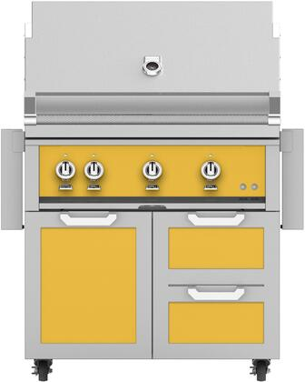 Hestan  851422 Liquid Propane Grill Yellow, Main Image