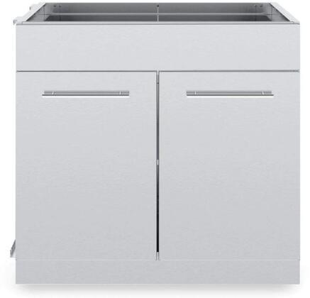 804200 2 Door Cabinet in Stainless