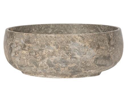 EB_S049GM-P Gral Round Vessel Sink in Gray
