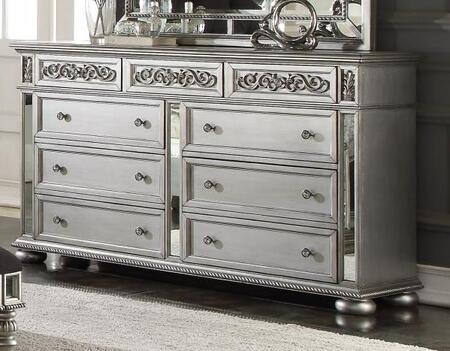 Myco Furniture Kealynn KE170DR Dresser Silver, KE170DR Main Image