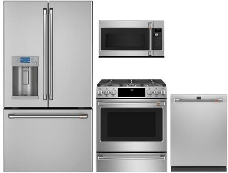 Cafe  1050083 Kitchen Appliance Package Stainless Steel, Main image